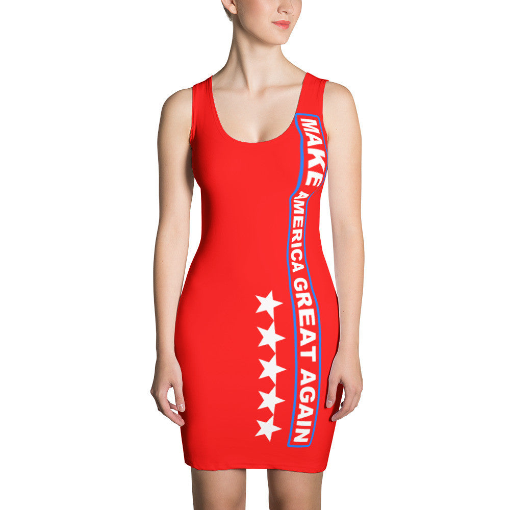 Make America Great Again Red Dress