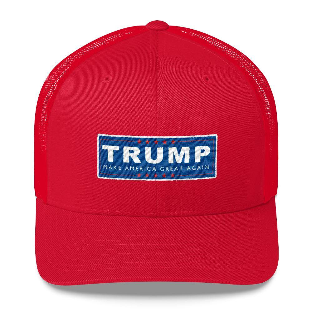 Donald Trump Make America Great Again Classic Trucker Cap - Miss Deplorable