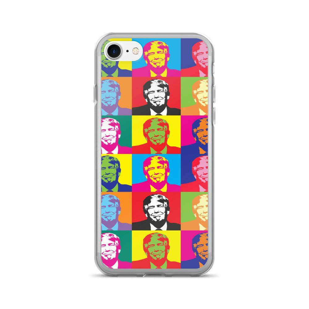 Andy Warhol Donald Trump iPhone 7/7 Plus Case - Miss Deplorable