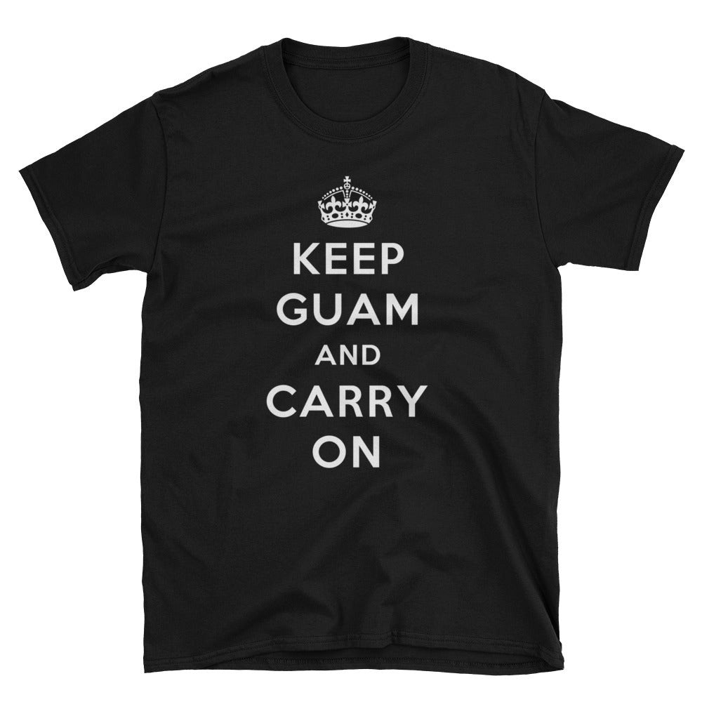 Donald Trump Keep Guam And Carry On Mens T Shirt