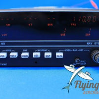 King KNS-80 NAV VOR LOC DME GS Receiver P/N 066-4008-00 GUARANTEED 8130 (19796)