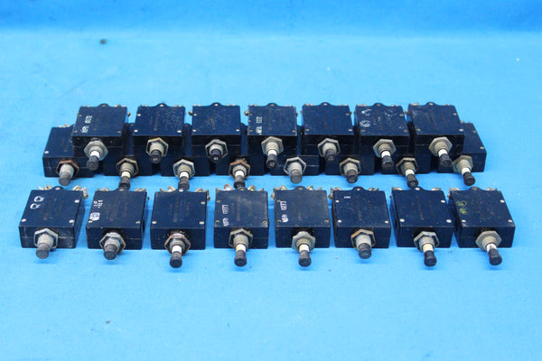 Lot of 23 Assorted Wood Electric Circuit Breakers P/N: 454656 (25247)