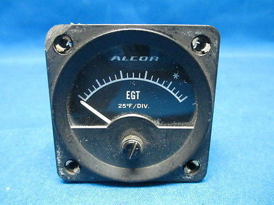 Working Alcor Inc EGT Indicator (6976)