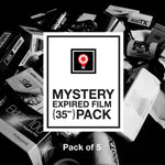 35mm Expired Film Mystery Pack