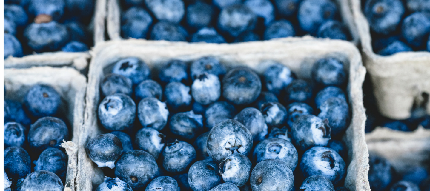 FruitShare organic blueberries