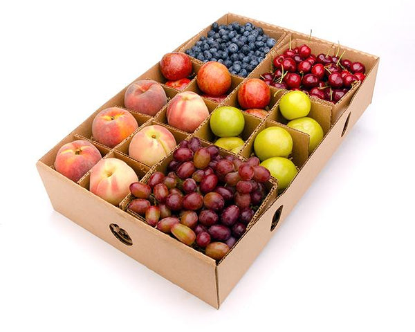 In season summer fruit- mixed - organic- FruitSHare