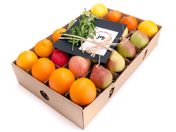 Holiday Fruit Gift - in season - organic mixed - FruitShare