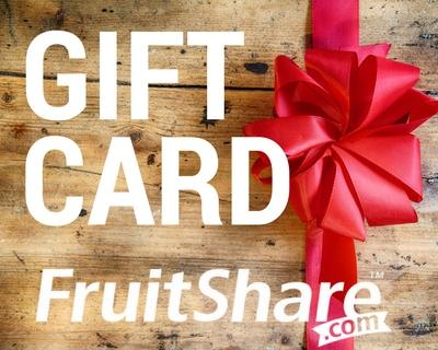 Gift certificate- card- organic fruit delivery - FruitShare