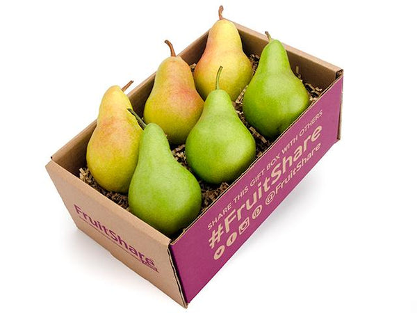 Pears - Simple six Gift Box - organic fruit delivery - FruitShare