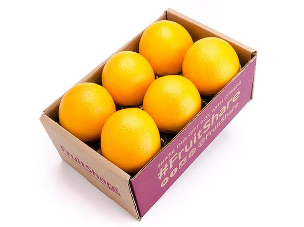 Navel orange 6 ct - Organic Fruit Delivery - Fruit Gift Box - FruitShare
