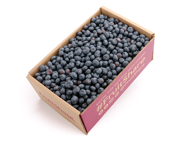 Blueberries 3 pt - Organic Fruit Gift- Fruit Delivery - FruitShare