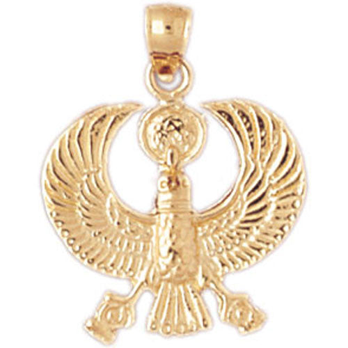 14K GOLD EGYPTIAN CHARM #4776