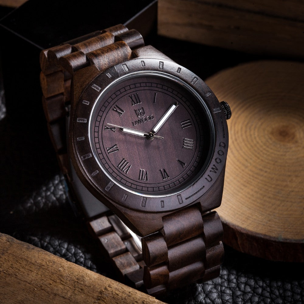 100% Wooden Wristwatch for men - Be the Boss