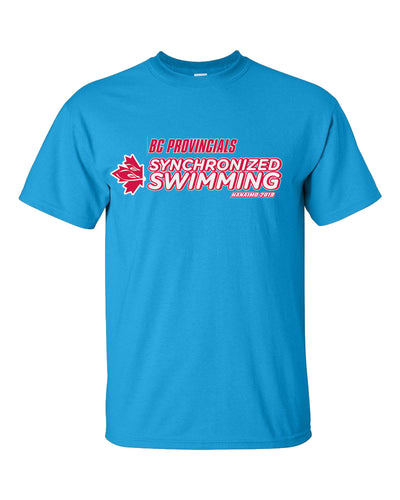 BC Provincials Swimming 2019 Short Sleeve T-Shirt