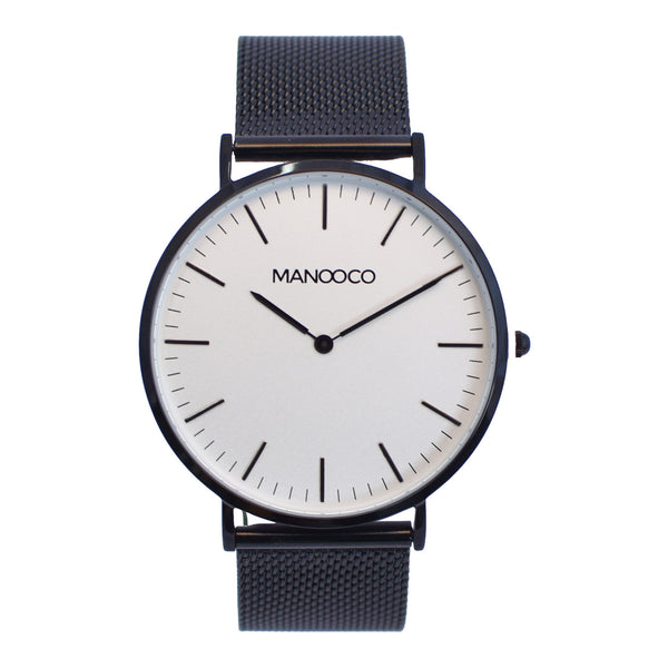 Zephyr Black / Black Mesh - Watch - MANOOCO - Watch - manooco