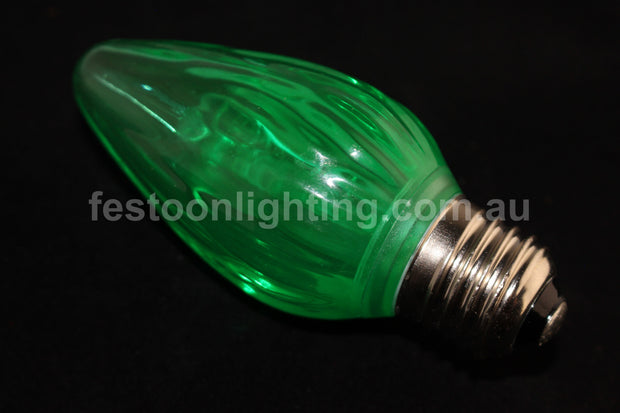 F50 E27 Decorative Festoon Bulb - Green