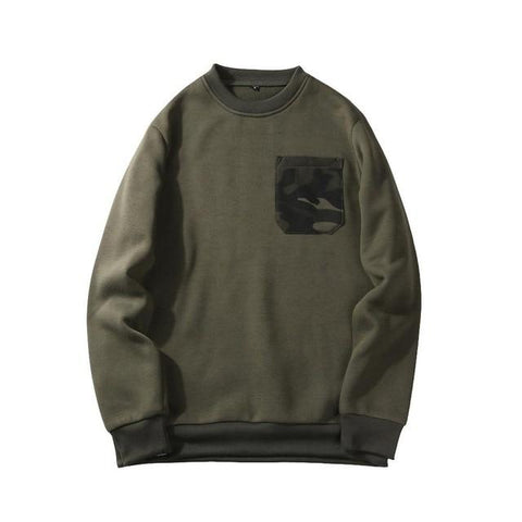 Pocket Camo Sweatshirts