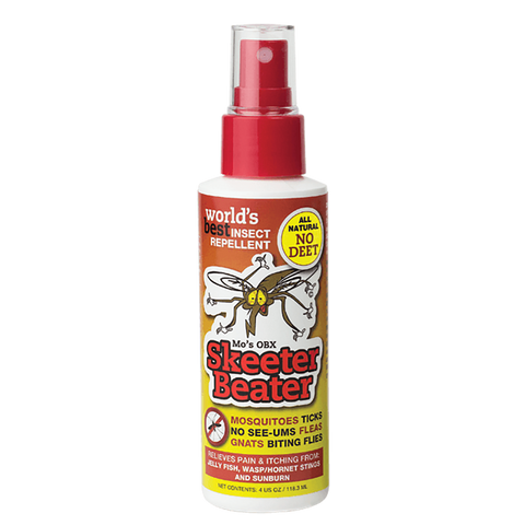 Mo's OBX Skeeter Beater Insect Repellent - 4 oz