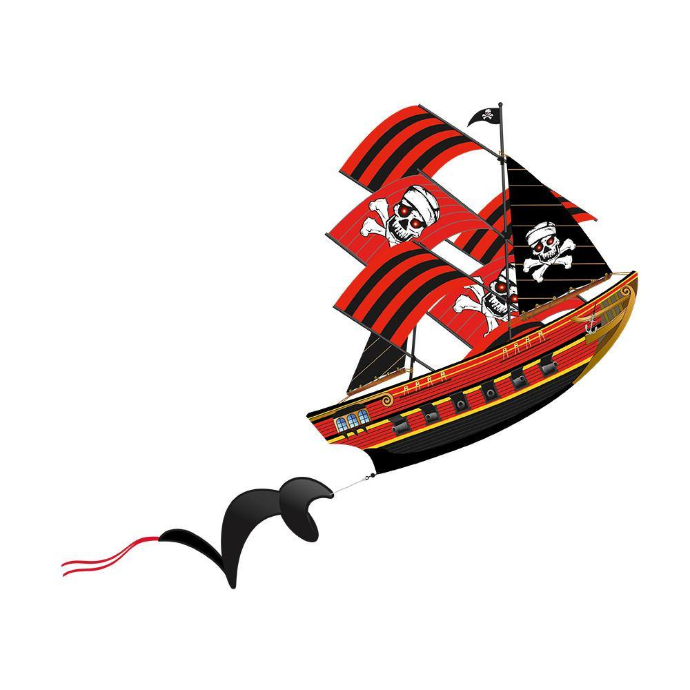 PirateShip SuperSize 3-D Kite