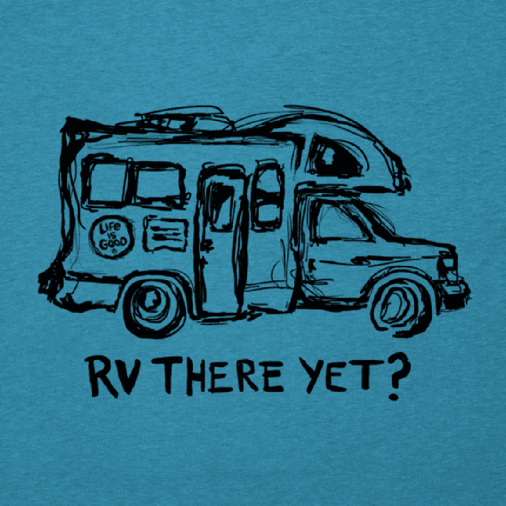 Mens RV There Yet Cool Tee