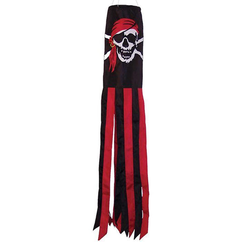 Jolly Roger Pirate 40 Inch Windsock