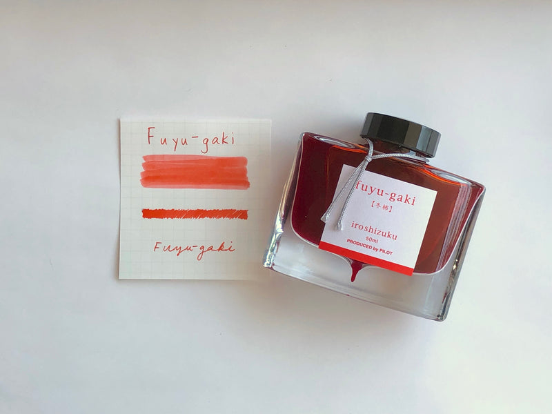 Pilot Iroshizuku Ink - Fuyu-gaki - 50 mL Bottle Ink