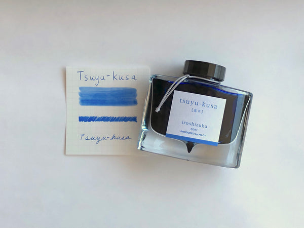 Pilot Iroshizuku Inks Tsuyu-kusa (Asiatic Dayflower)
