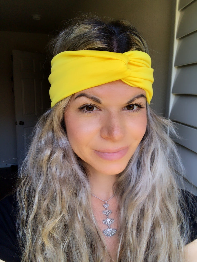 Yellow Star Active ~ Headband - Tossy by EM
