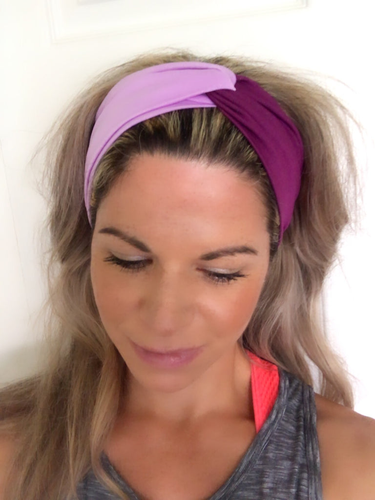 Violet & Purple Active ~ Headband - Tossy by EM