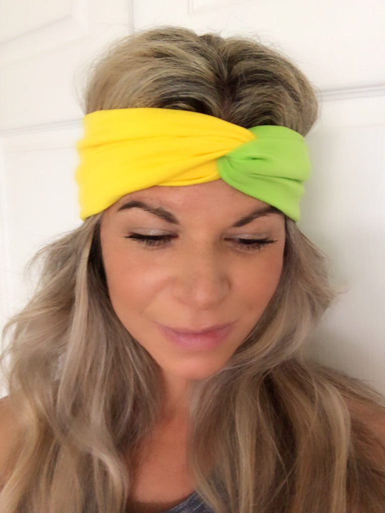 Citrus Lemonade Active ~ Headband - Tossy by EM