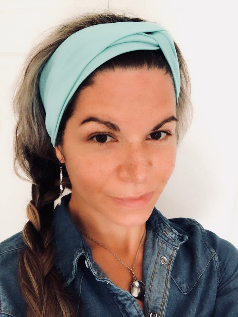 Aquamarine Active ~ Headband - Tossy by EM