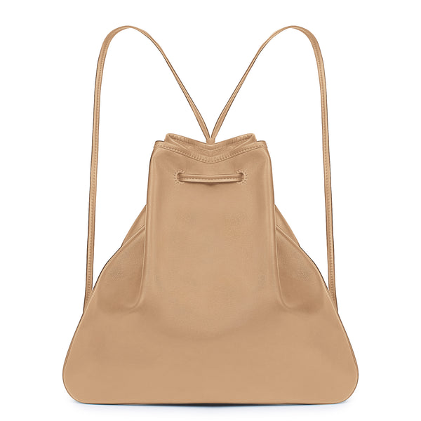 GIRONA BACKPACK in Tan Napa