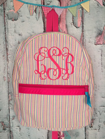 Vine Monogram For Girls Backpack