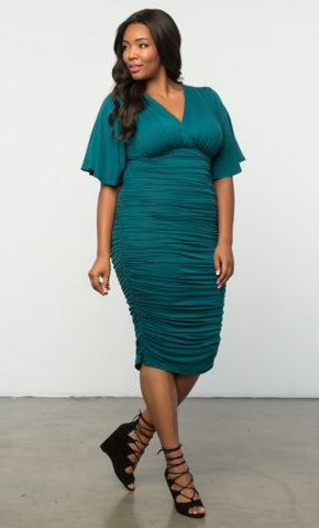 KIYONNA Rumor Ruched Dress