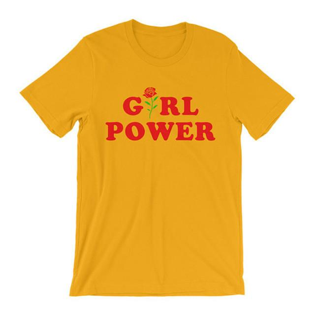 Girl Power Short Sleeve-w tee-Venture Modern-Venture Modern