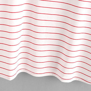 Red Striped Color Block Top-w tee-Venture Modern-Venture Modern