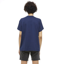 "Blue Cotton T-shirt with ""Eastern Europe"" print - krawaii.com"
