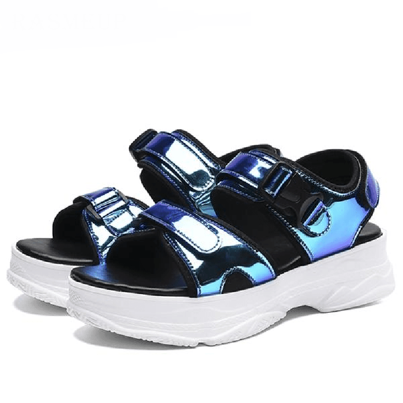 Woman's Sandals Reflecto Sandals at $47.00