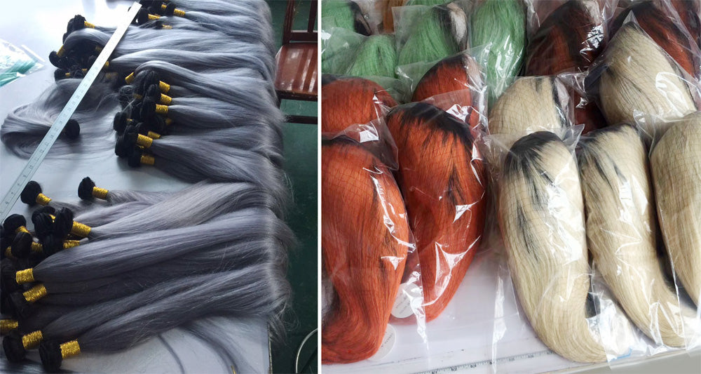 Customized Bundles and wigs