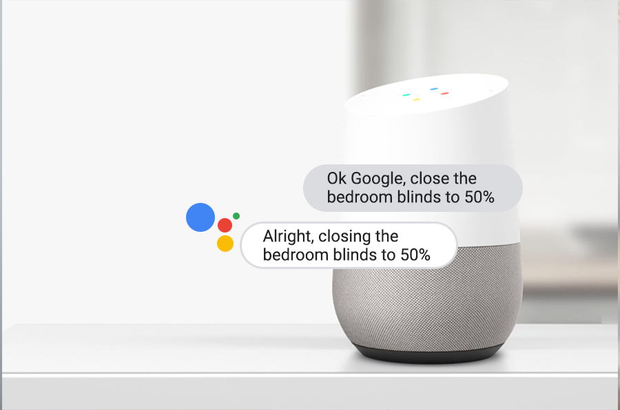 Works with Google Home
