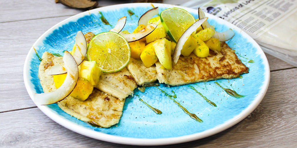 Coconut French Toast With Tropical Fruit