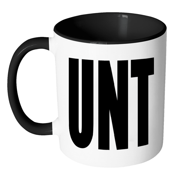 Cunt Unt Mug - Funny Adult Offensive Mug - Perfect Gag Gift For A Joke - Luxurious Inspirations
