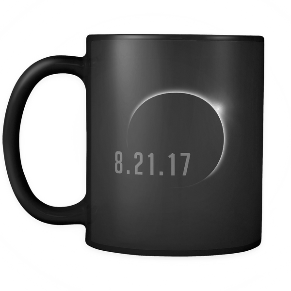 Total Solar Eclipse August 21 2017 Mug - USA Black Coffee Cup Drinkware teelaunch