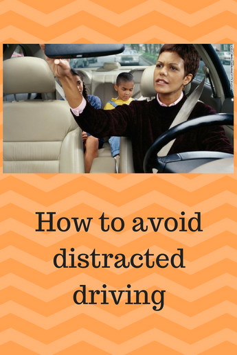How to Avoid Distracted Driving on the Road with Kids