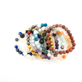 Mala Bracelet: I Am Protected, Mala - Honey & Sage