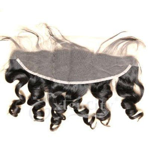 13x4 Loose Wave Lace Frontal - Virgin Brazilian Human Hair (other side)