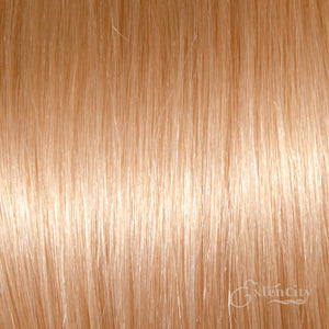 Virgin Remy Human Clip-in Hair - #613 Lightest Blonde/Bleach Blonde - Lengths: 16"