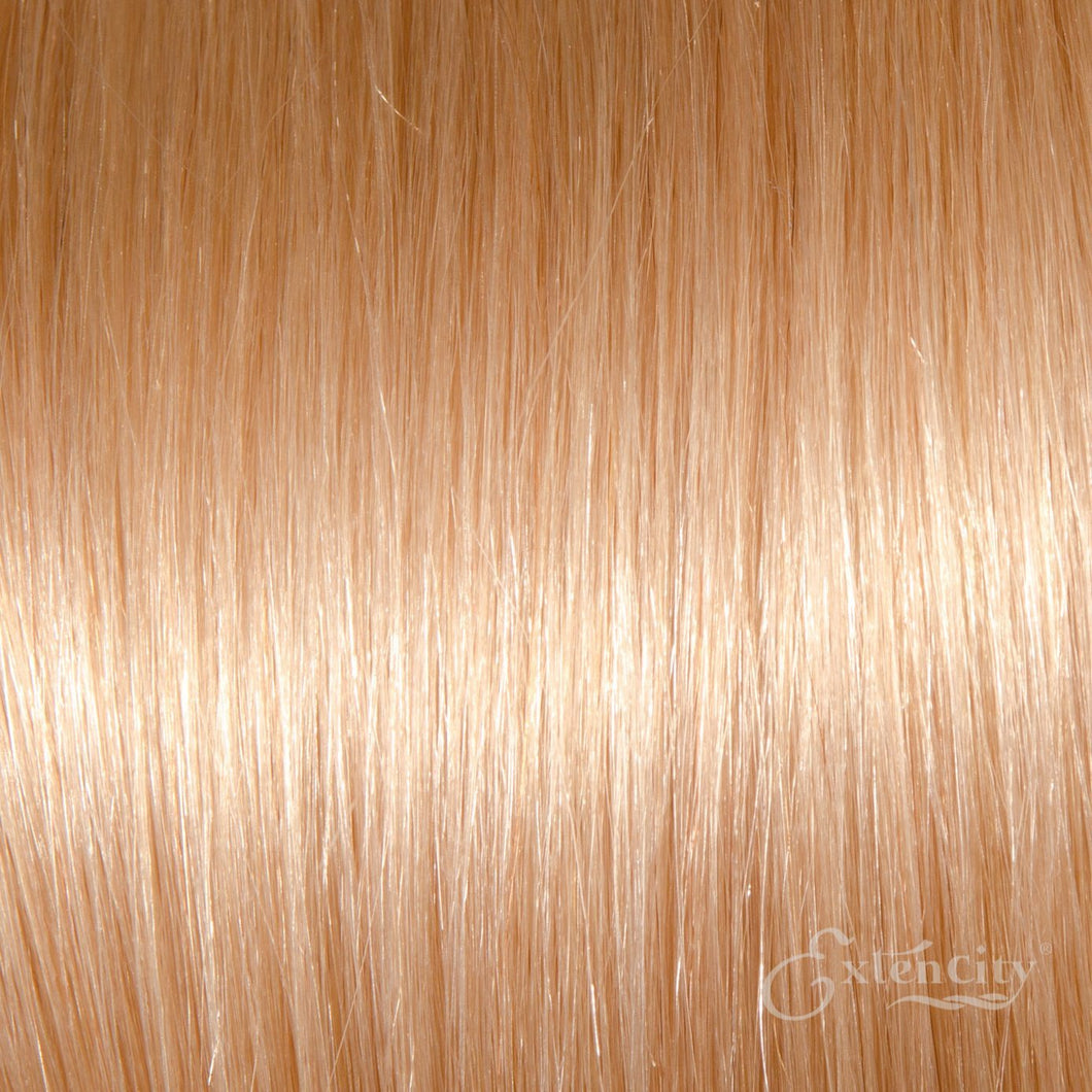 Virgin Remy Human Clip-in Hair - #613 Lightest Blonde/Bleach Blonde - Lengths: 16