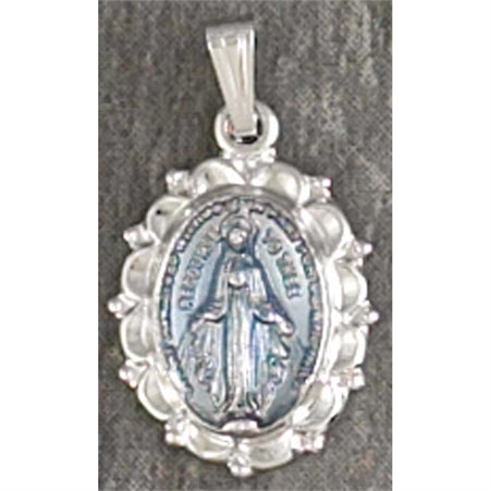 "Miraculous Medal w/18"" chain"