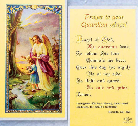 Guardian Angel with Girl LPC